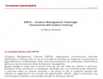 OMT®- Outdoor Management Training: l'evoluzione dell'outdoor training