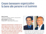 Creare benessere organizzativo fa bene alle persone e al business