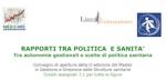 Rapporti tra politica e sanità – Convegno a Cagliari