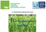 La formazione outdoor: Rotondi incontra i soci AIF all'ASL di Firenze