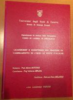 Università di Genova – Applicare il Wellness Organizzativo® in Poste Italiane?