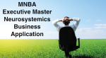 MNBA – Executive Master Neurosystemics Business Application
