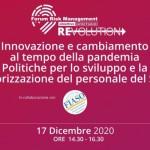 15° Forum Risk Management in Sanità – Sviluppo e valorizzazione del personale